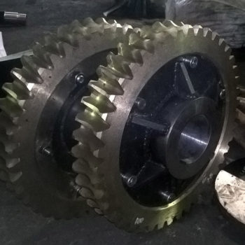 Червячное колесо бронзовое