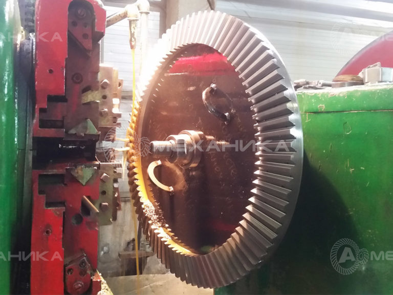 Коническое колесо с прямым зубом